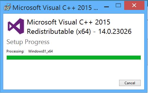 Download Microsoft Visual C++ Redistributable All Versions